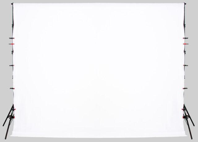 Weißer Fotobox-Hintergrund