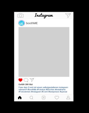 Instagram - Fotorahmen