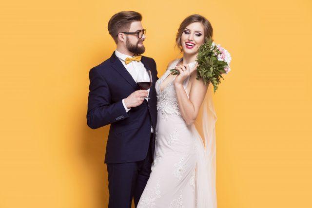 Das Brautpaar genießt den Rundum-sorglos-Service von boothME!