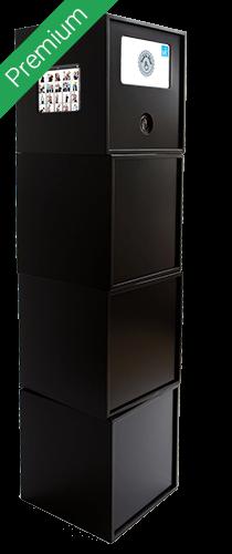 Fotobox boothME blackbox seitlich - Premium