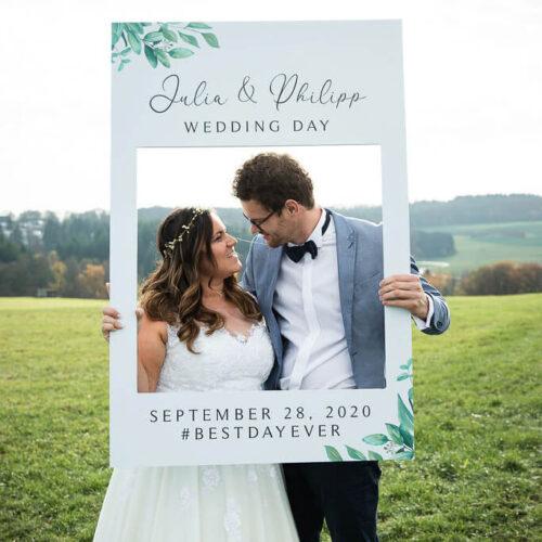 Hochzeitstag Fotorahmen