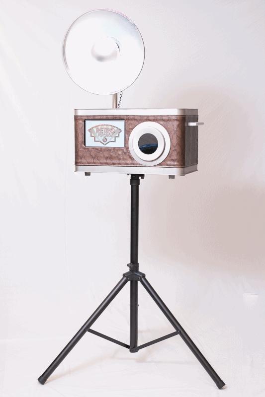 Retro Fotobox für deine nächste Party